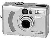 Canon PowerShot A50 Fotoğraf Makinesi Driver İndir
