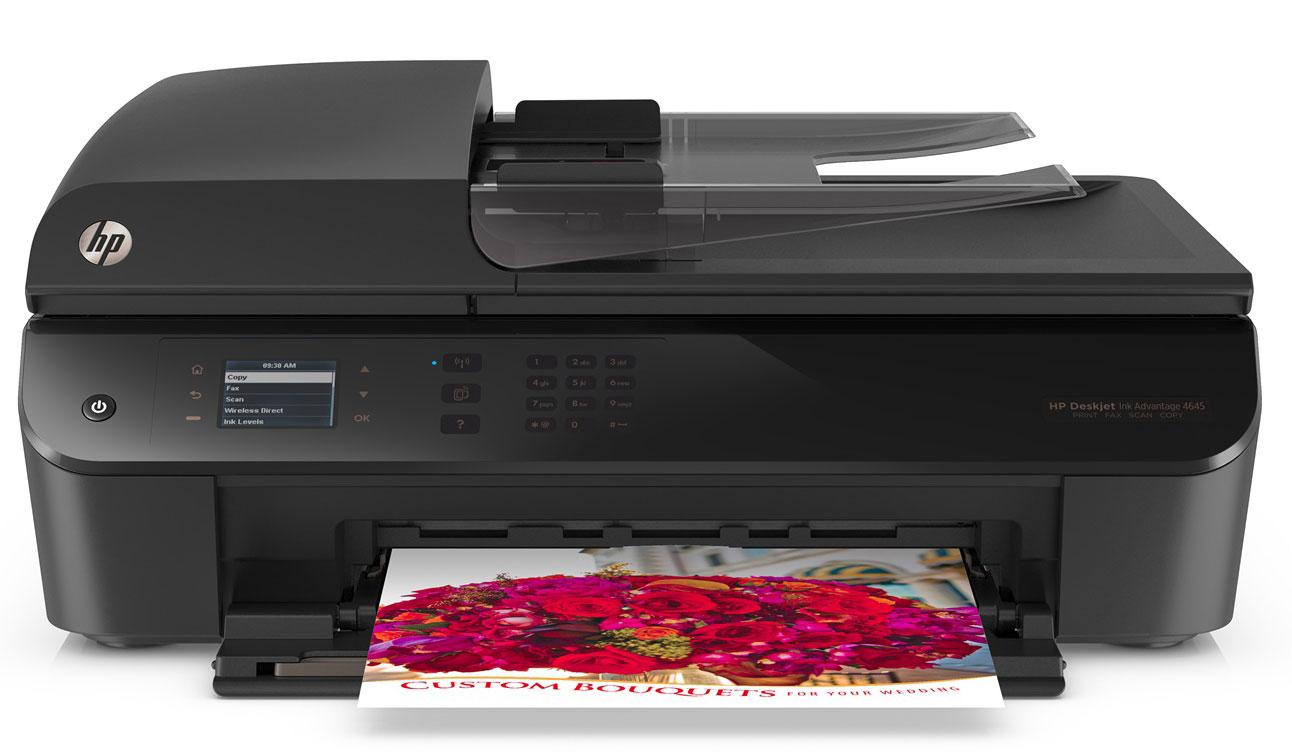 HP-4645-Faks-+-Fotokopi-+-Tarayıcı-+-WiFi