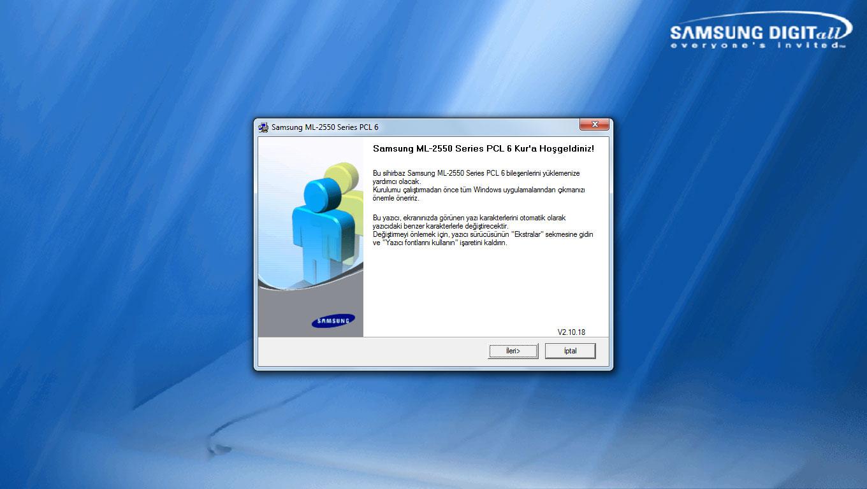 Samsung-ML-2551N-Lazer-Yazıcı-İkinci-Kurulum